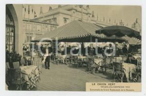 1910 EXPO BRUXELLES Le Chien Vert - Bruxelles Kermesse - Carte postale ANIMEE