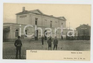 1900 ca FOREST - BELGIQUE Station du Midi - Carte postale FP NV