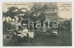 1910 ca TERVUEREN - BELGIQUE Hotel du Jardin Joyeux - Carte postale FP NV