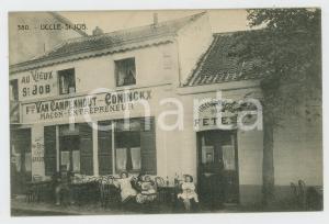 1910 ca UCCLE Au Vieux SAINT-JOB François VAN CAMPENHOUT-CONINCKX Postcard
