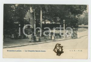 1905 ca LAEKEN Chapelle Sainte-Anne CHEZ JEAN Creme a la glacé - Carte postale
