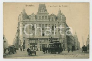 1900 ca BRUXELLES Place Surlet de Chokier - Carte postale FP NV