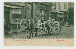 1900 ca BRUXELLES Le vendeur de légumes - Carte postale FP NV