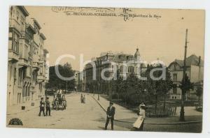1913 BRUXELLES - SCHAERBEEK Place de Jamblinne de meux - Carte postale FP VG