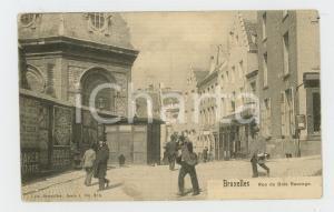 1910 ca BRUXELLES Rue du Bois Sauvage - Carte postale FP NV