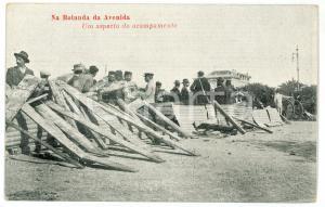 1910 IMPLANTAÇÃO DA REPÚBLICA PORTUGUEZA Na rotunda da Avenida - Bilhete postal