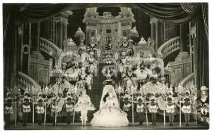 1950 ca PARIS Folies Bergère - Dancers with black masks - Photo 14x9 cm