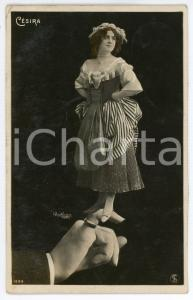1906 PARIS CÉSIRA - Portrait - Photomontage - Atelier REUTLINGER - Postcard