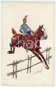 1903 Artist Fritz SCHÖNPFLUG - Austro-Hungarian Army - Cavalry (1)