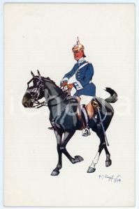 1904 Artist Fritz SCHÖNPFLUG - Austro-Hungarian Army -  Cavalry officer (3)