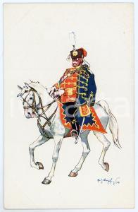 1904 Artist Fritz SCHÖNPFLUG - Austro-Hungarian Army - Cavalry officer (5)
