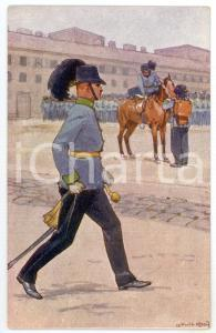 1900 ca Artist Ludwig KOCH - Austro-Hungarian Army - Infantry (1) Postcard