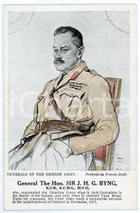 1910 ca Artist Francis DODD - Generals of the British army - J. H. G. BYNG