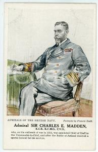 1910 ca Artist Francis DODD - Admirals of the British navy - Charles E. MADDEN