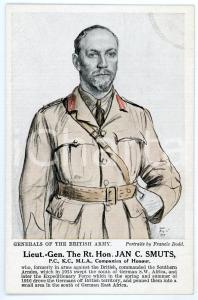 1910 ca Artist Francis DODD - Generals of the British army - Jan C. SMUTS