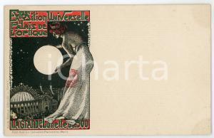 1900 PARIS Exposition Universelle - Palais Optique - La grande lunette *Postcard