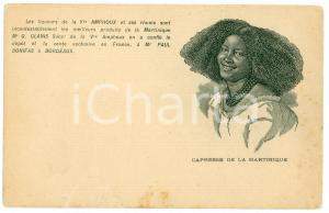 1900 ca RHUM AMPHOUX Capresse de la Martinique - Carte postale FP NV