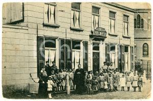 1908 OSSENDRECHT NEDERLAND Villa Reine Elisabeth - Santé à l'enfance - Postcard