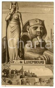 1912 LUXEMBOURG - Franc-Maçonnerie - RARE old postcard