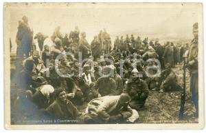 1912 SERBIA Battle KUMANOVO Кумановска битка - Prisonniers turcs *Postcard RPPC