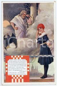 1912 PRAGUE VII Sletu Vsesokolskému - Halloh Zeus - Postcard C. V. MUTTICHA