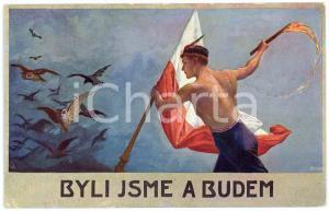 1920 ca CZECH PROPAGANDA Byli Jsme A Budem - Old Postcard