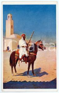 1913 LONDON OLYMPIA International Horse Show - Postcard ill. P. J. WRIGHT