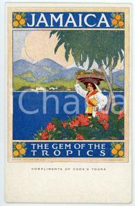 1911 JAMAICA The Gem of the Tropics - Postcard Thomas COOK's tours