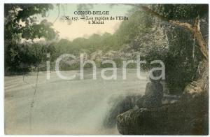 1910 ca CONGO BELGE Les rapides de l'Elila à MICICI Carte postale n.157 FP NV