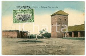 1911 CONGO BELGE Coin de PONTHIERVILLE Carte postale n.133 FP VG