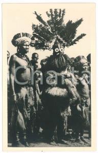 1930 ca C. ZAGOURSKI «L'Afrique qui disparaît» Danseurs Bakamputu - Postcard 32