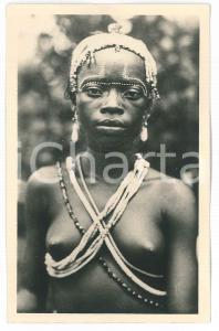 1930 ca C. ZAGOURSKI «L'Afrique qui disparaît» Danseuse YA-KOMA - Postcard n. 42