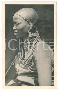 1930 ca C. ZAGOURSKI «L'Afrique qui disparaît»  KENYA - Femme MASAI *Postcard 157