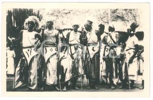 1930 ca C. ZAGOURSKI «L'Afrique qui disparaît» RUANDA - Danseurs - Postcard 99