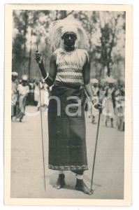 1930 ca C. ZAGOURSKI «L'Afrique qui disparaît» RUANDA Danseur - Postcard 112