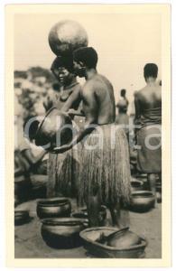 1930 ca C. ZAGOURSKI «L'Afrique qui disparaît» Marché de poterie *Postcard 19
