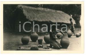 1930 ca C. ZAGOURSKI - CONGO BELGE Femme potier - Carte postale FP NV