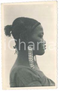 1930 ca C. ZAGOURSKI (?) AFRIQUE - CONGO BELGE Coiffure africaine - Postcard