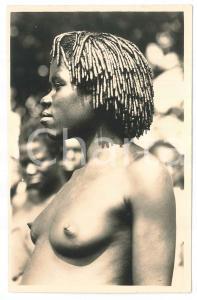 1930 C. ZAGOURSKI «L'Afrique qui disparaît» Diverses coiffures Africaines *156