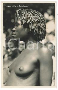 1930 C. ZAGOURSKI «L'Afrique qui disparaît» Diverses coiffures Congolaises *156