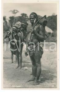 1930 ca C. ZAGOURSKI «L'Afrique qui disparaît» CONGO BELGE Homme Ituri n.77