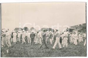1925 ZAGOURSKI - CONGO BELGE ^Foule à l'arrivée de l'aviateur Edmond THIEFFRY