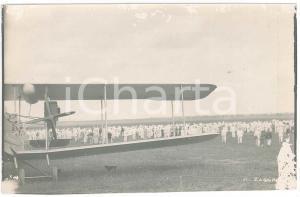 1925 ZAGOURSKI - CONGO BELGE - Foule à l'arrivée de l'aviateur Edmond THIEFFRY