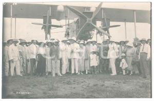 1925 C. ZAGOURSKI - CONGO BELGE - Arrivée aviateur Edmond THIEFFRY - Postcard
