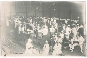 1925 ZAGOURSKI CONGO BELGE Arrivée aviateur THIEFFRY - Réception - Postcard