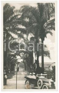 1928 C. ZAGOURSKI - CONGO BELGE Visite du roi Albert Ier - En voiture *Postcard