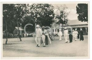 1928 C. ZAGOURSKI - CONGO BELGE - Roi Albert Ier en visite *Postcard