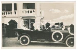 1928 C. ZAGOURSKI - CONGO BELGE Visite roi Albert Ier - Cortège royal *Postcard