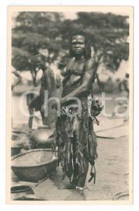 1930 ca C. ZAGOURSKI «L'Afrique qui disparaît» - LUSAMBO Accoucheuse *Postcard 24