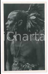 1930 ca C. ZAGOURSKI «L'Afrique qui disparaît» - CONGO Chef BATEKE *Postcard n.3